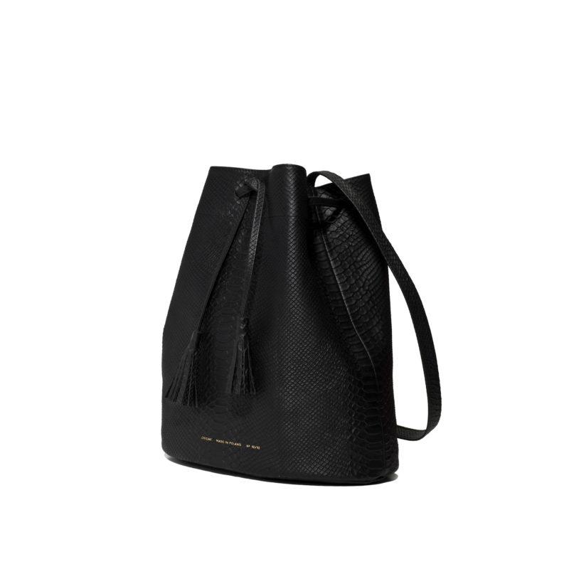 """Big Bucket Bag """"python"""""""