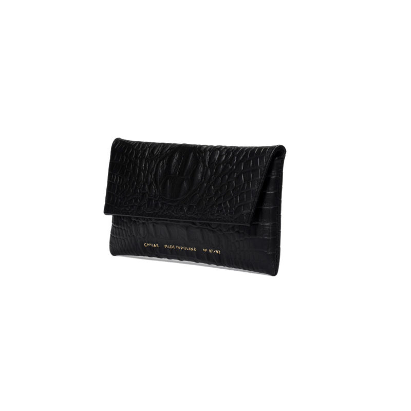 "Mini Clutch ""crocodile"""