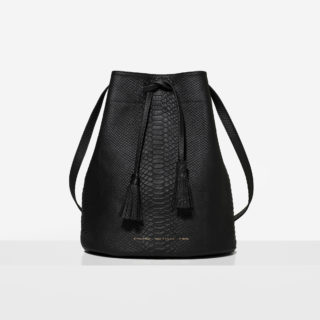 "Big Bucket Bag ""python"""