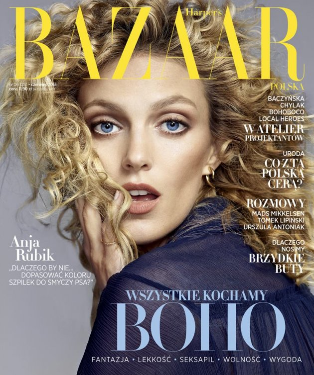 Harper's Bazaar Poland June 2015