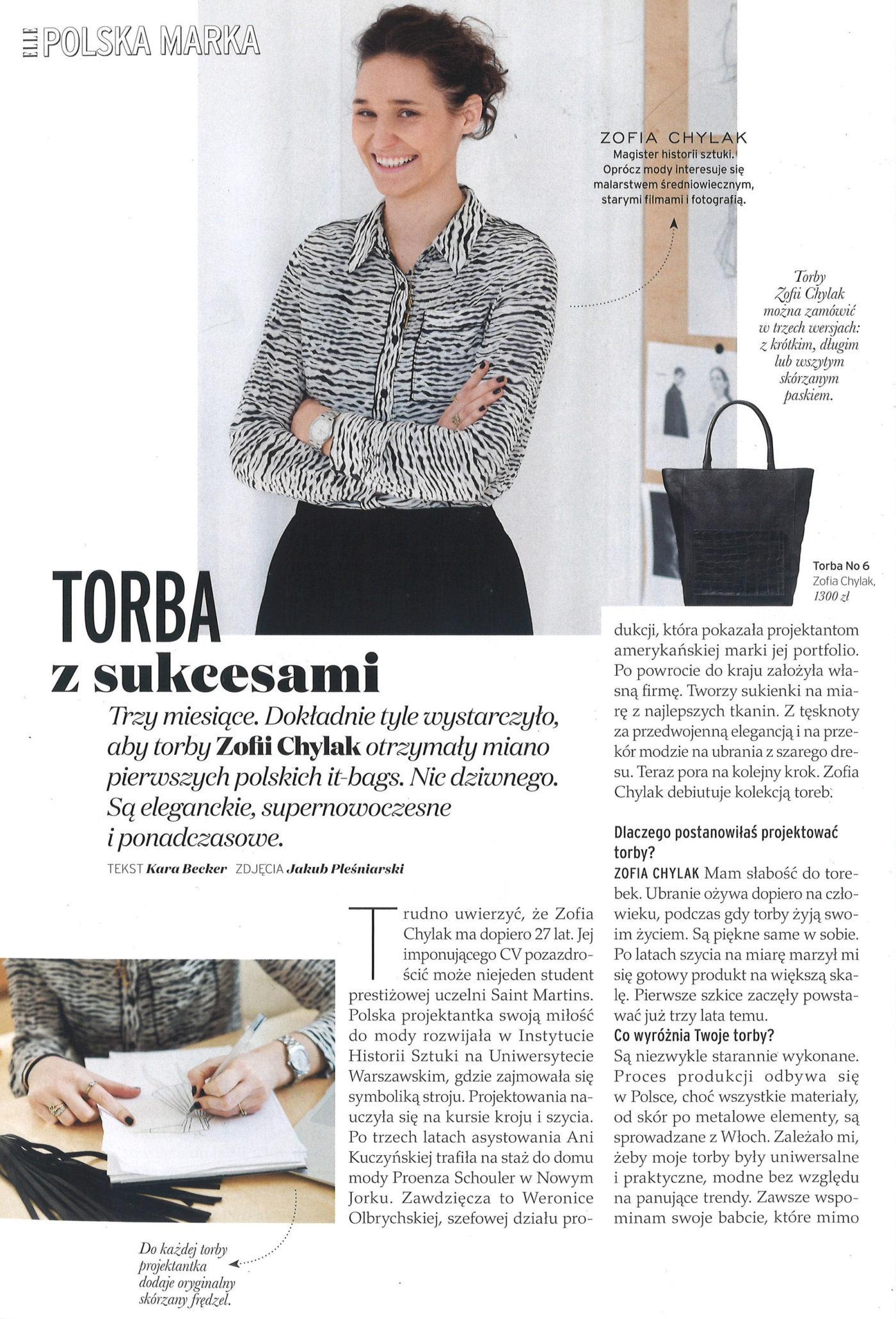 Elle Poland April 2015
