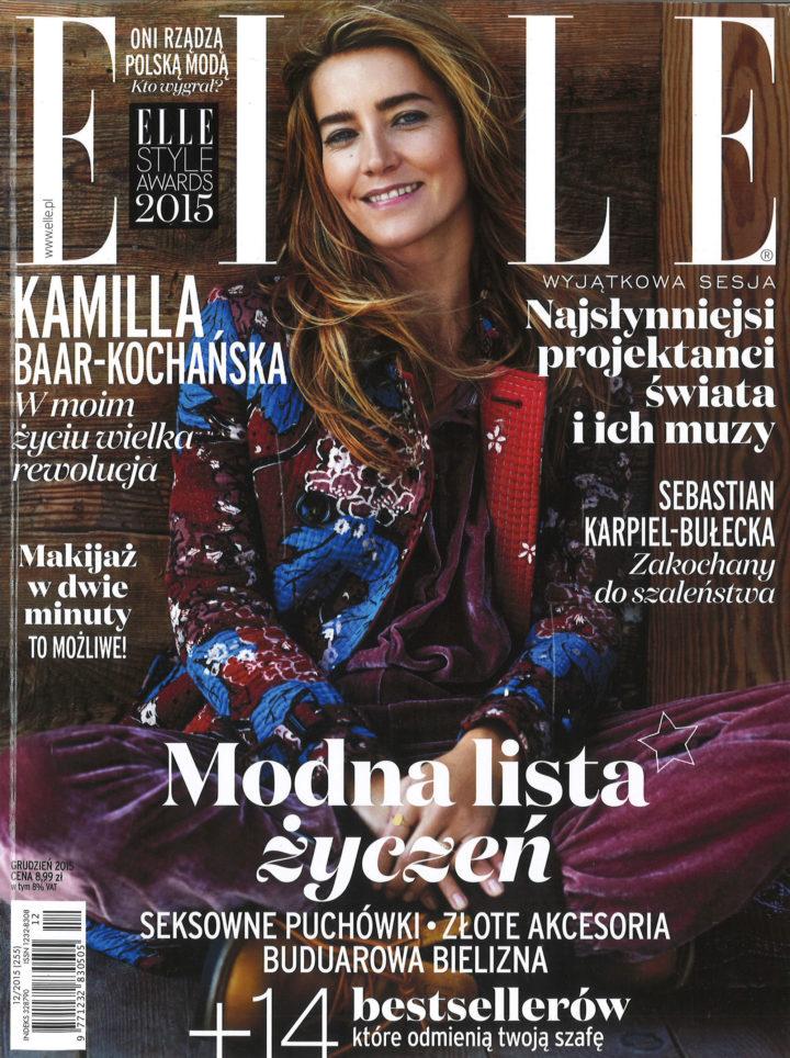 Elle Poland December 2015