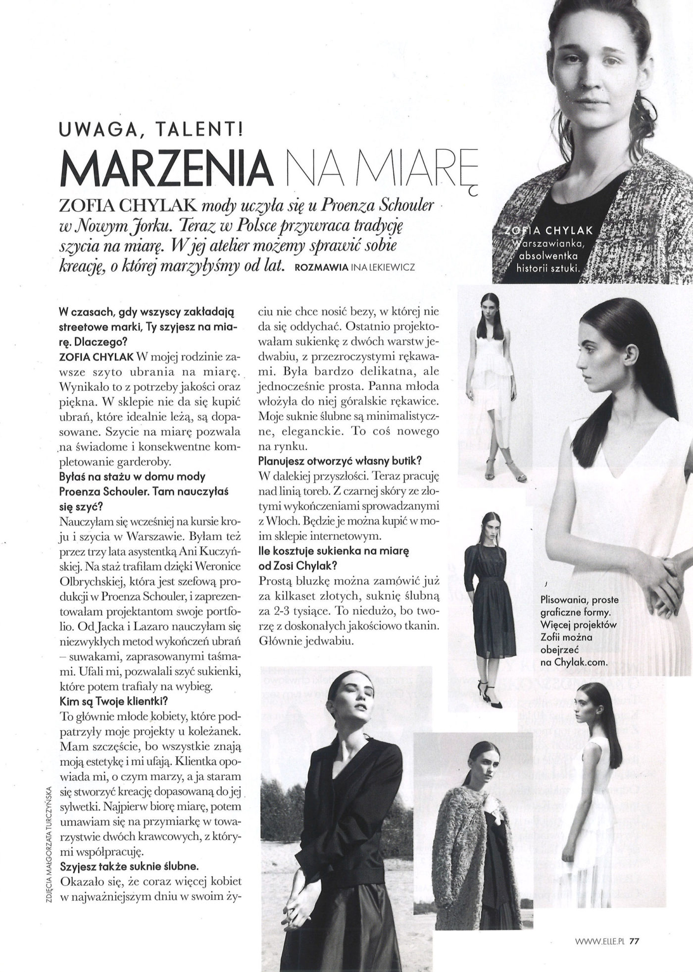 Elle Poland March 2014