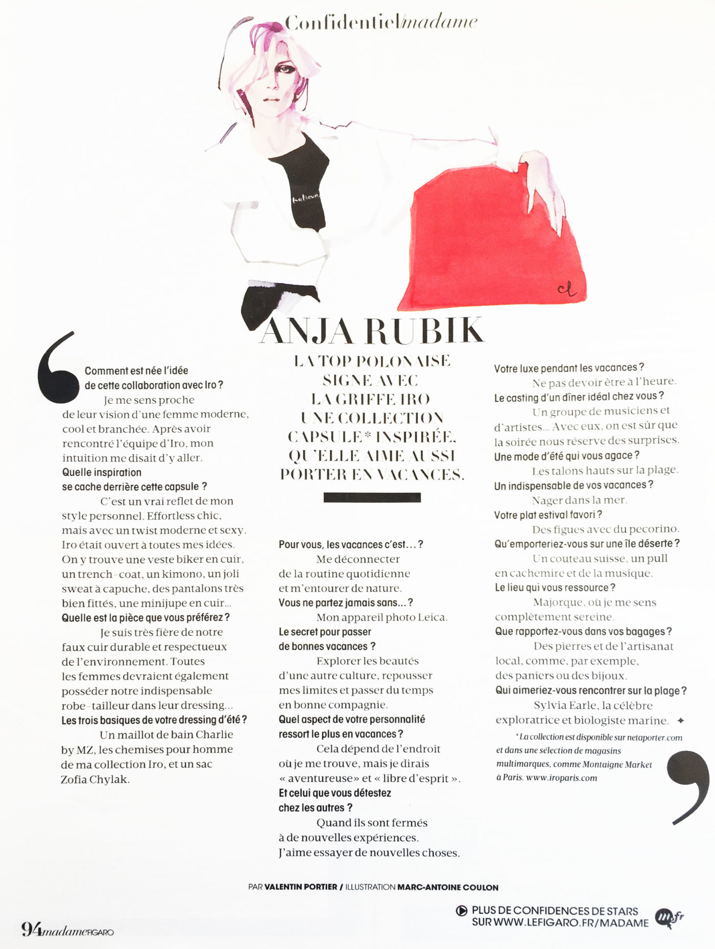 Le Figaro Madame August 2016