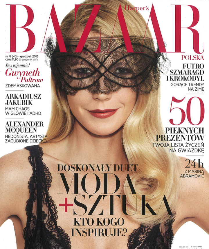 Harper's Bazaar Poland December 2016