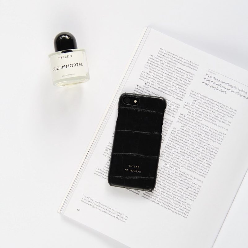 "iPhone Case ""Black Crocodile"""