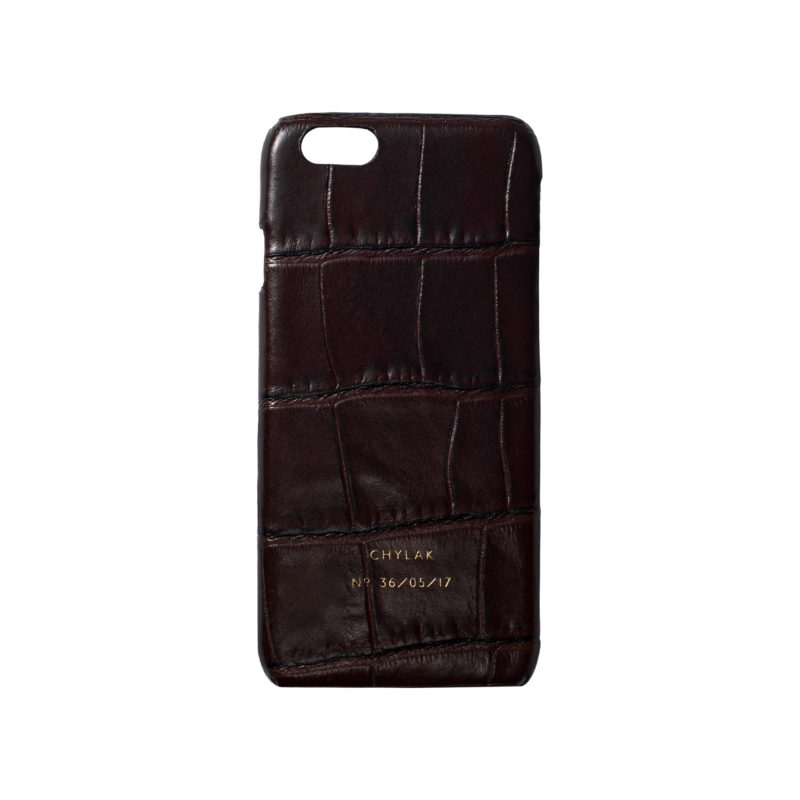"iPhone Case ""Brown Crocodile"""
