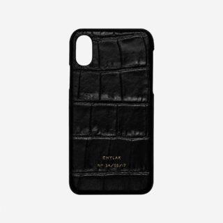 "iPhone Case ""Black Crocodile"""