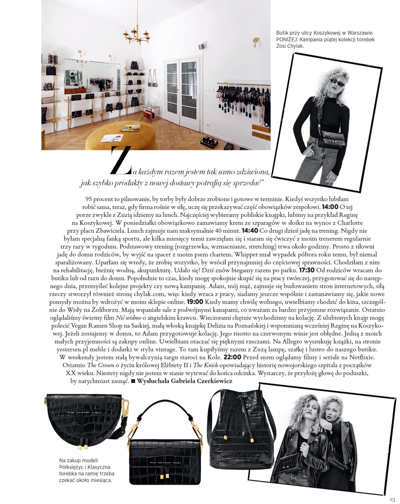 Harper's Bazaar April 2018