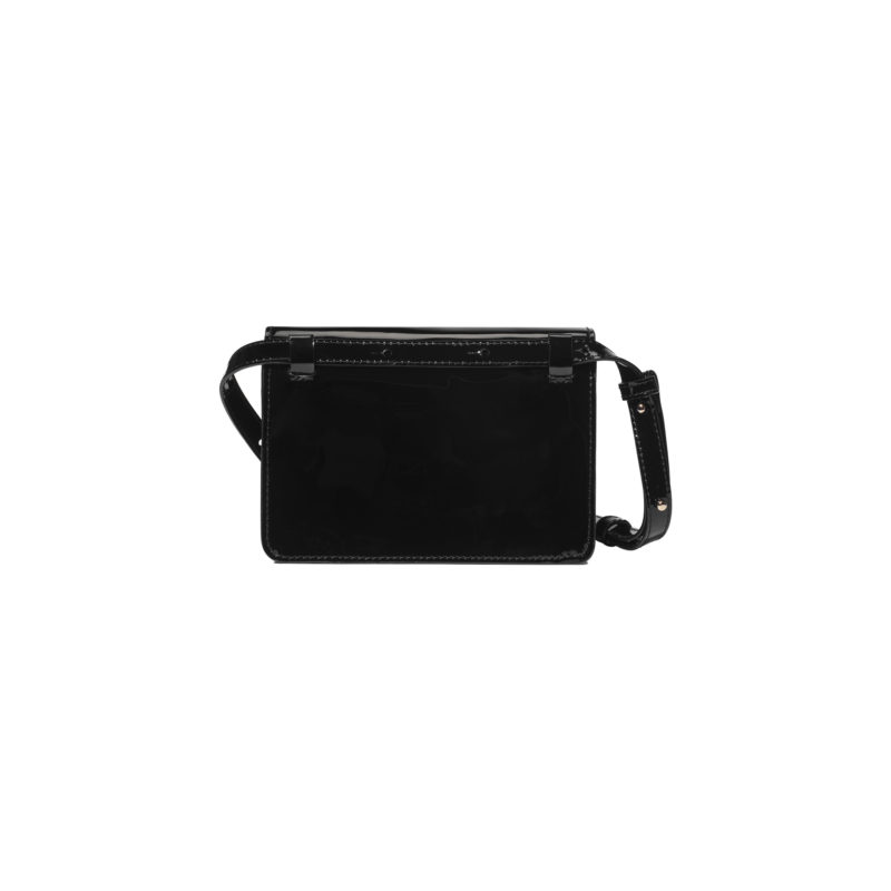 "Mini Belt Bag ""black patent leather"""