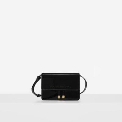 """Mini Belt Bag """"black patent leather"""""""