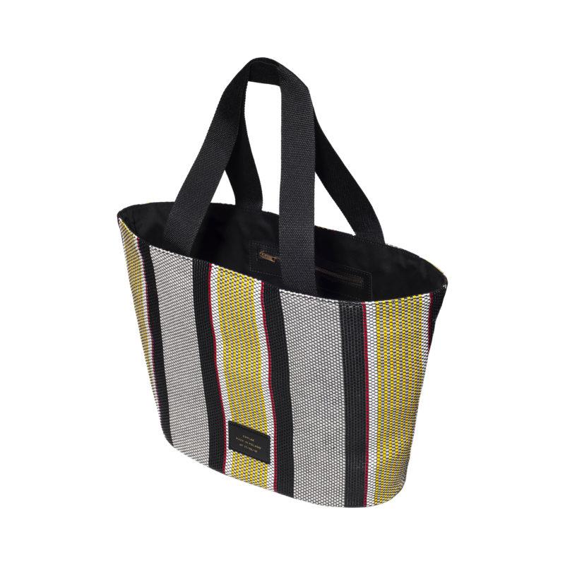 """Big Tote Bag """"striped woven"""""""