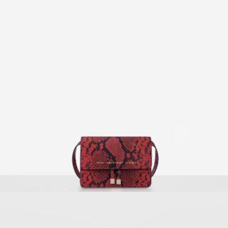 "Mini Belt Bag ""red python"""