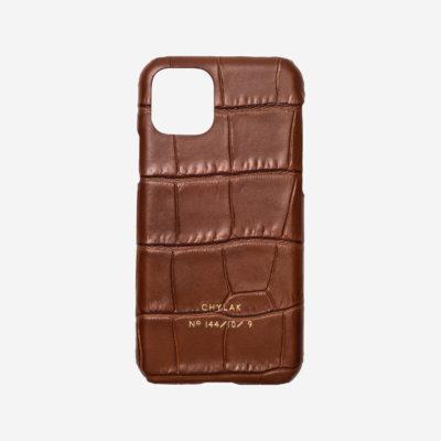 "iPhone Case ""glossy caramel crocodile"""